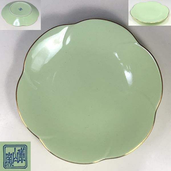 庫山窯梅型小皿W7557