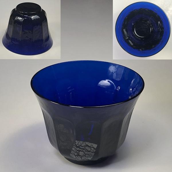 青ガラス冷茶グラス