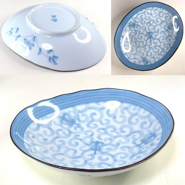 楕円皿W8538