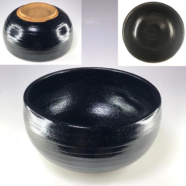 黒釉小丼W8569