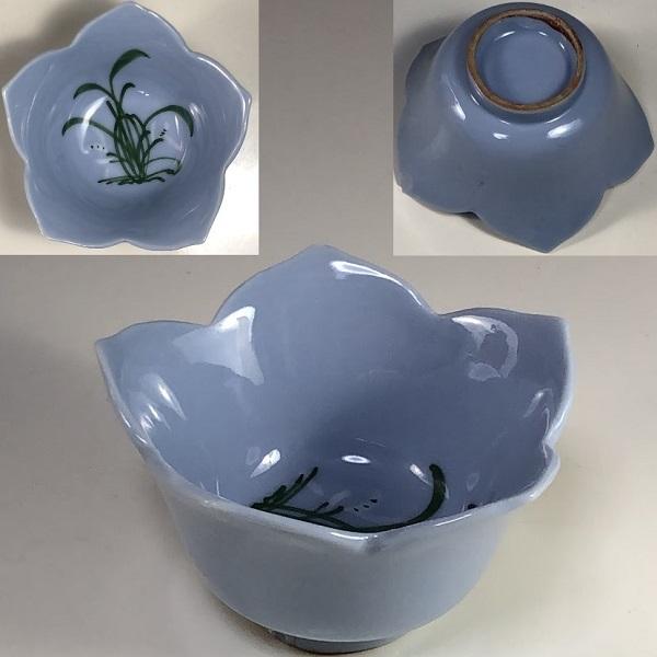 桔梗型豆鉢W7282