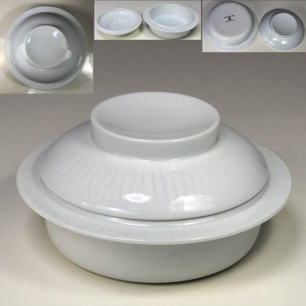 白山陶器森正洋蓋付グラタン皿