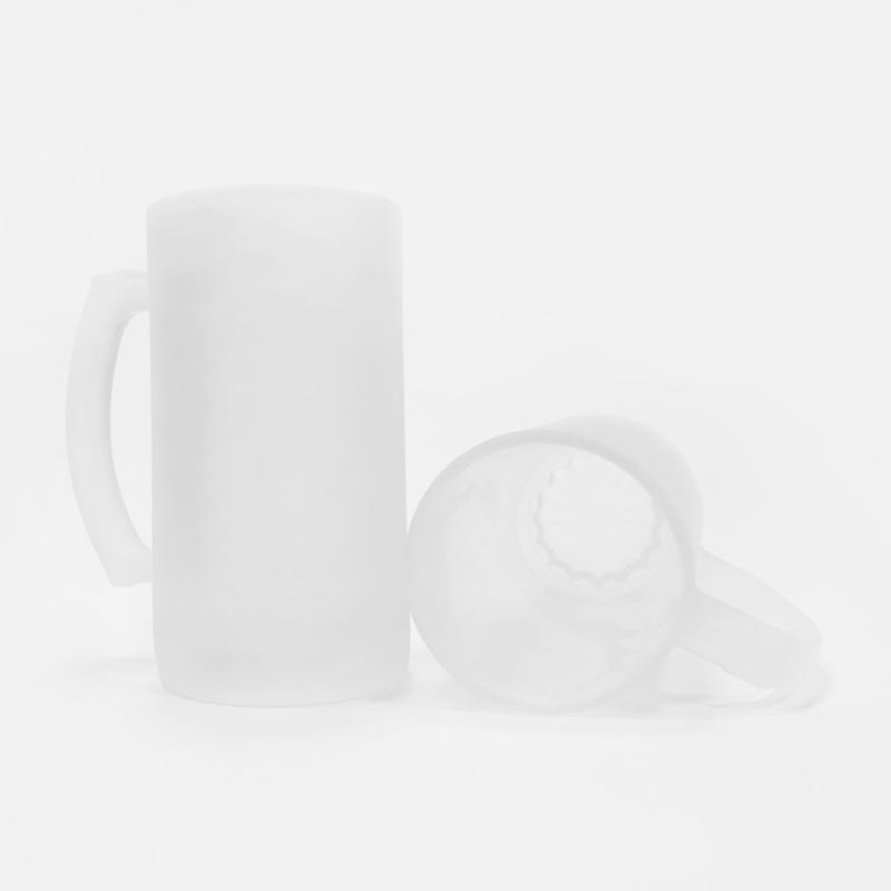 Матовый стеклянный бокал