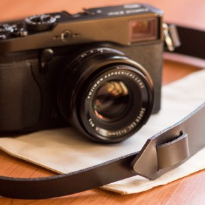 Sonium Leather – wide camera strap