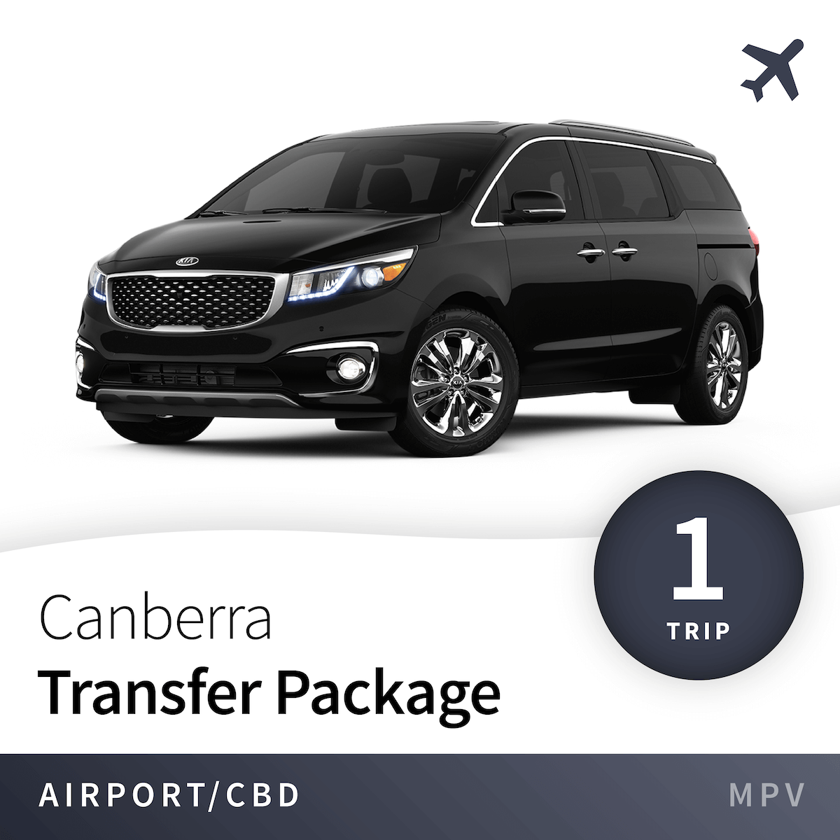 Canberra Airport Transfer Package - MPV (1 Trip) 1