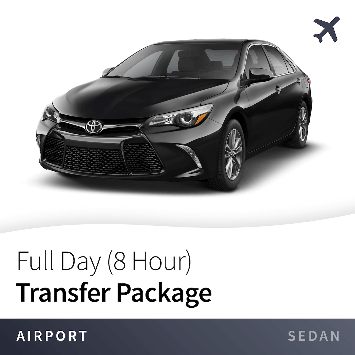 Full Day (8 Hour) Transfer Package From Airport - Sedan 16