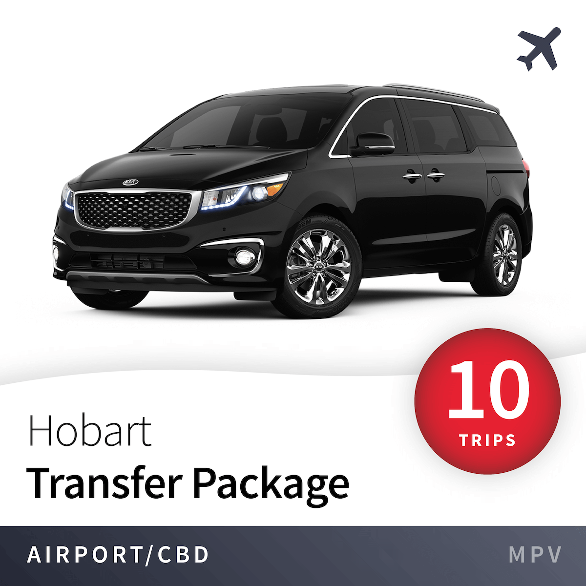Hobart Airport Transfer Package - MPV (10 Trips) 1