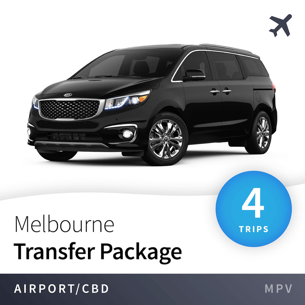 Melbourne Airport Transfer Package - MPV (4 Trips) 1