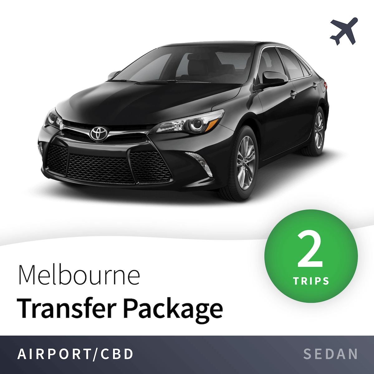 Melbourne Airport Transfer Package - Sedan (2 Trips) 2