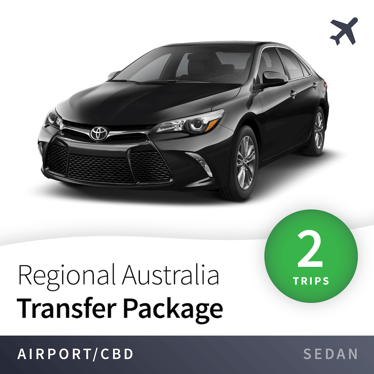 Regional Airport Transfer Package - Sedan (2 Trips) 17