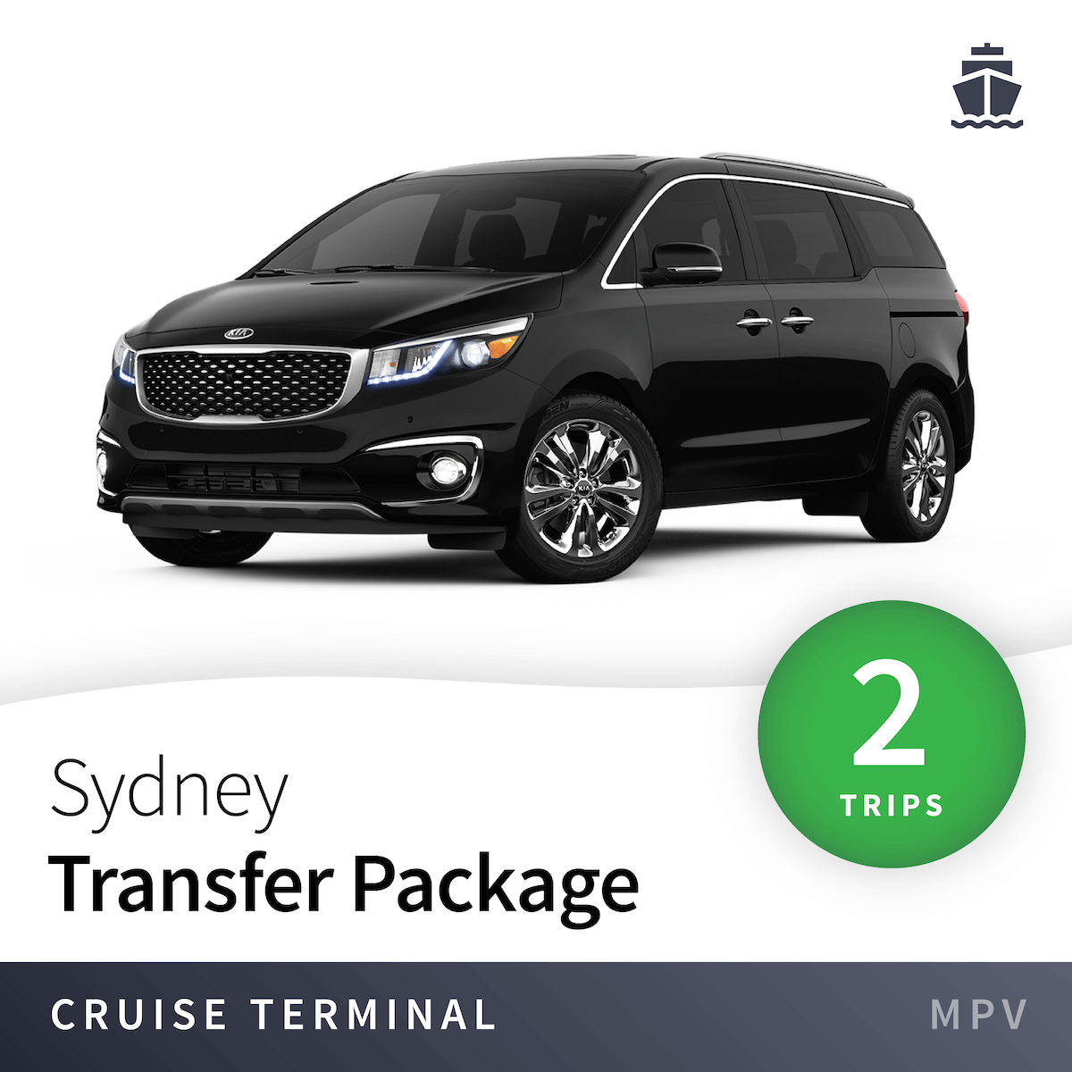 Sydney Cruise Terminal Transfer Package - MPV (2 Trips) 1