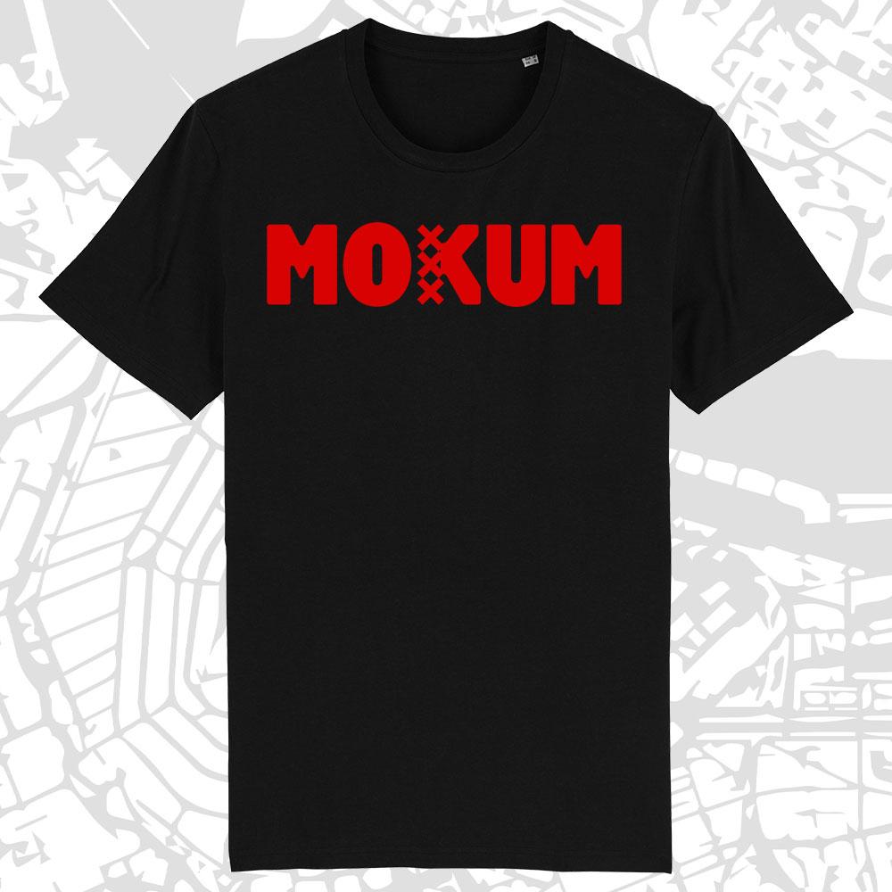 Mokum Shirt zwart-rood Amsterdam