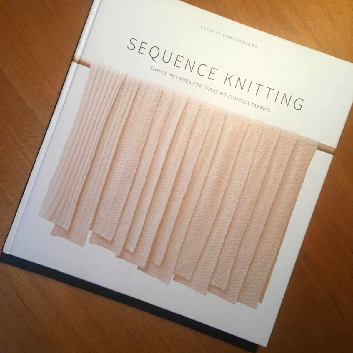 sequence knitting book