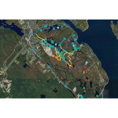 Halifax Backlands Map