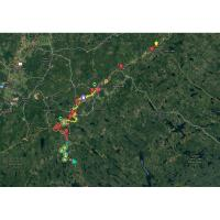 Musquodoboit River GPS (.gpx and .kml) Map Files