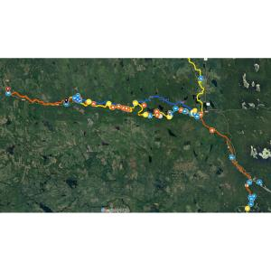 St. Mary's River paddling map