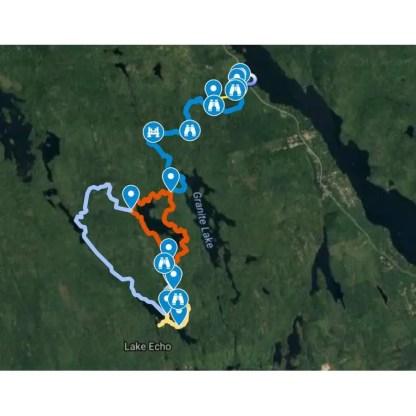 Crowbar Lake Map