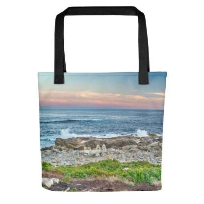 Duncan's Cove photo tote bag