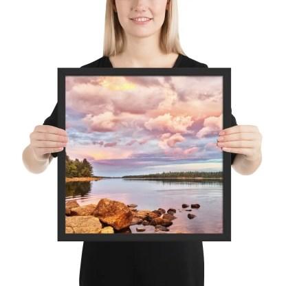 Framed Photo Long Lake