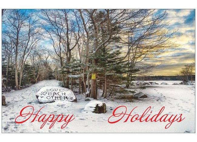 Christmas Cards – Long Lake Provincial Park (Packs of 10 or 20)