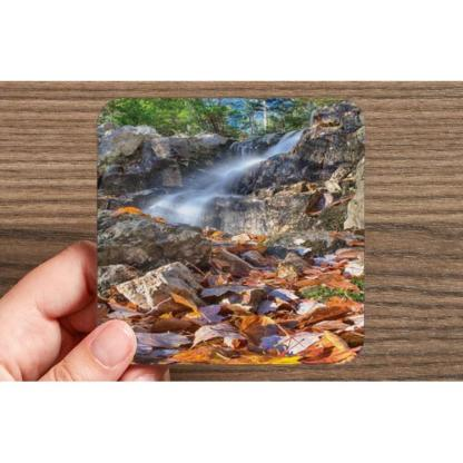 B.L.T. Trail Waterfall Drink Coasters