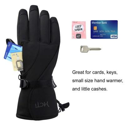 MCTi Winter Ski Gloves Waterproof Windproof Men's Snowboard Snow Work 3M Thinsulate Warm Insulated Gloves