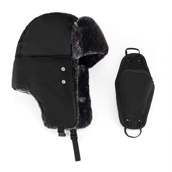 Unisex Winter Trooper Hat With Windproof Mask