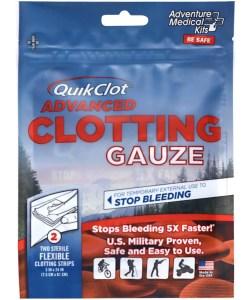 QuikClot Advanced Clotting Gauze (3