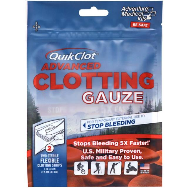 QuikClot Advanced Clotting Gauze (3
