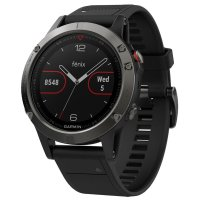 Garmin Fenix 5 - Slate Gray with Black Band