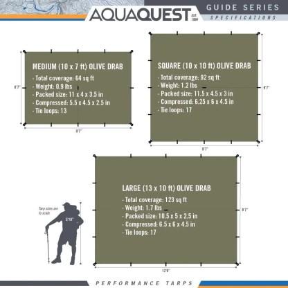 Aqua Quest Guide Tarp