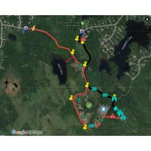 Blue Mountain Hiking Trail GPS Map Files gpx kml