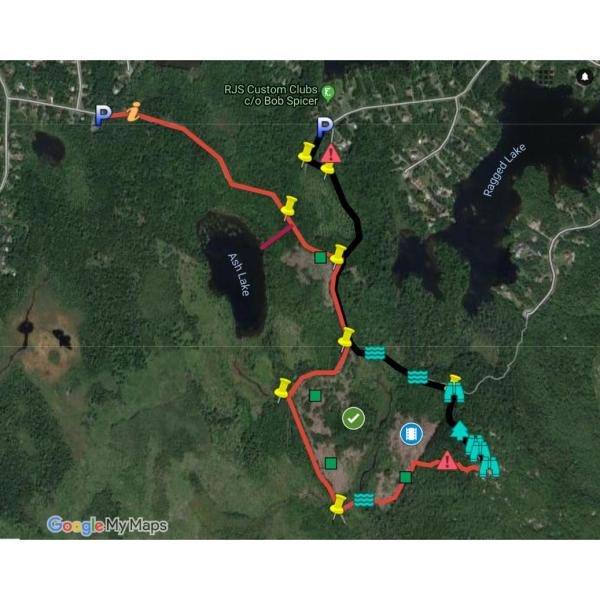 Blue Mountain Hiking Trail GPS Map Files gpx kml