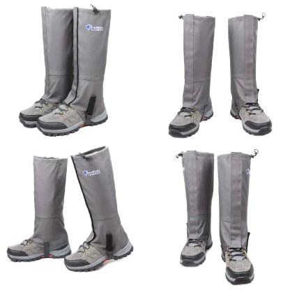 Water proof hiking leg gaiters