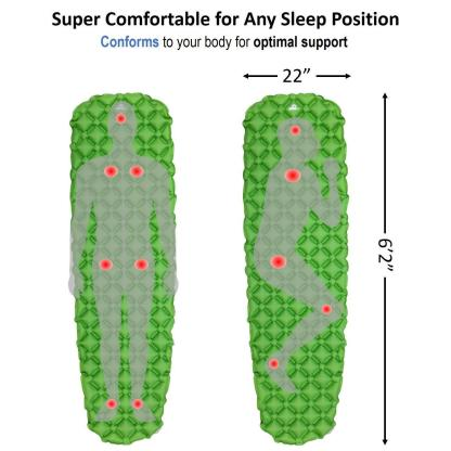 OutdoorsmanLab Ultralight Sleeping Pad