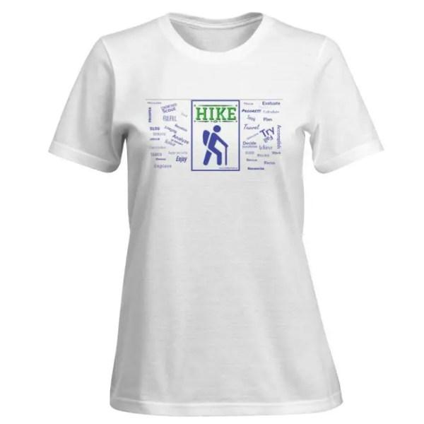 hiking t-shirt women's hike shirt