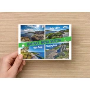 Halifax Nova Scotia Coastal Scenery Postcards
