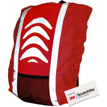 Salzmann 3M Reflective Backpack Cover | High Visibility, Waterproof & Weatherproof