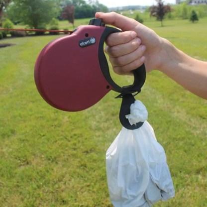 portable dog poop bag carrier