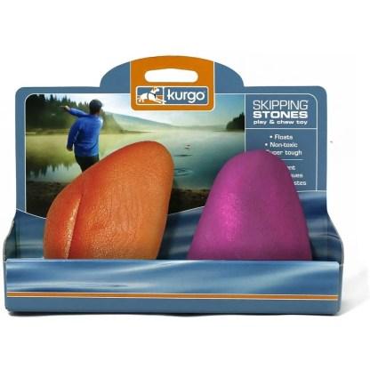 Kurgo Skipping Stones(TM) Floating Dog Fetch Toy - 2 Pack