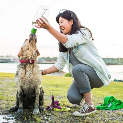 Portable Dog Mud Rinser