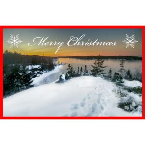 susies lake halifax nova scotia christmas cards