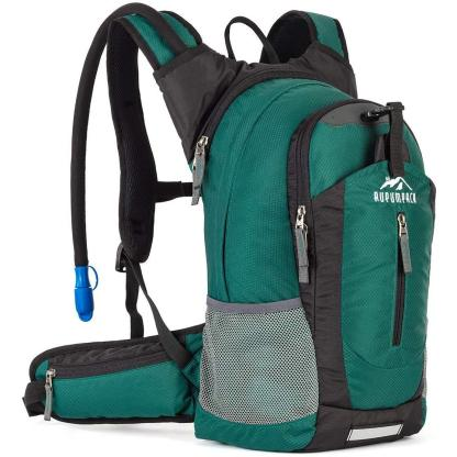 RUPUMPACK Insulated Hydration Backpack Pack with 2.5L BPA Free Bladder