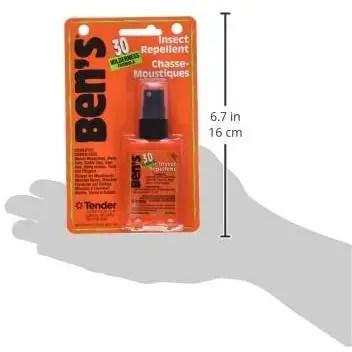Ben's 30% DEET Mosquito, Tick and Insect Repellent, 37ml Pump, Pack of 4