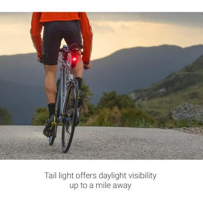 Garmin Varia RTL510, Bike/Cycling Radar Tail Light, Alerts for Rear-Approaching Vehicles