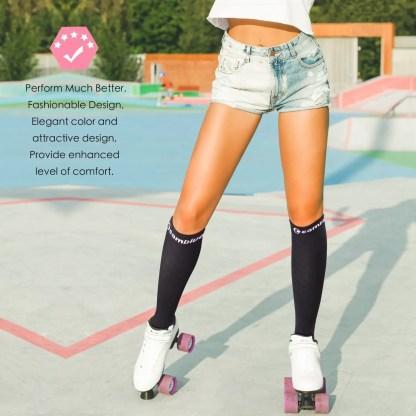 Compression Socks (2-Pairs, Unisex, 20-30 mmHg)