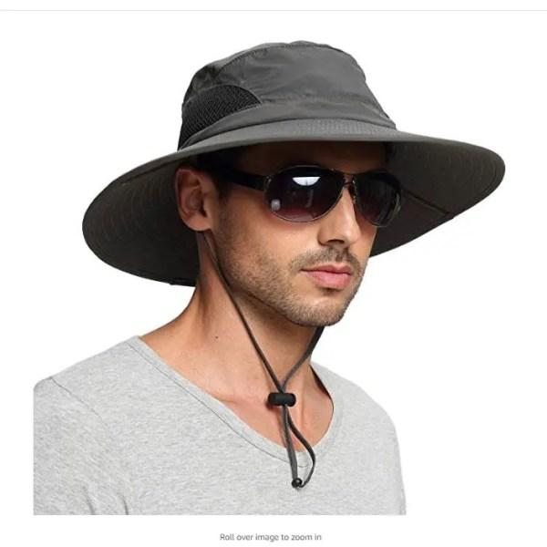 EINSKEY Unisex Wide Brim Sun Hat Summer UV Protection Bucket Hat Foldable Fishing Hat