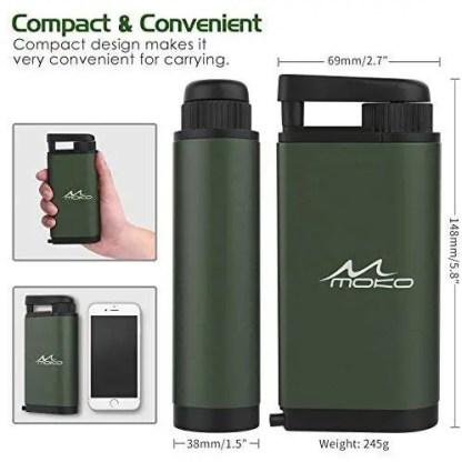 MoKo Portable Water Filter