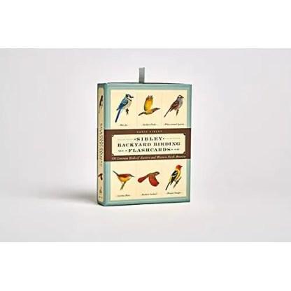 Sibley Backyard Birding Flashcards: 100 Common Birds of Eastern and Western North America
