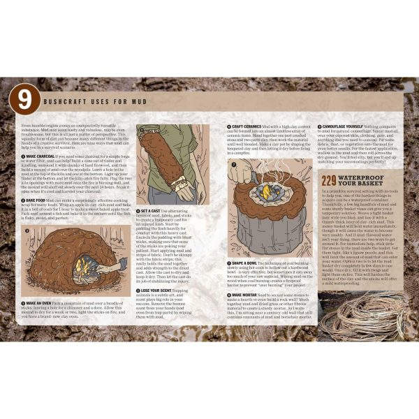 The Ultimate Bushcraft Survival Manual Flexibound